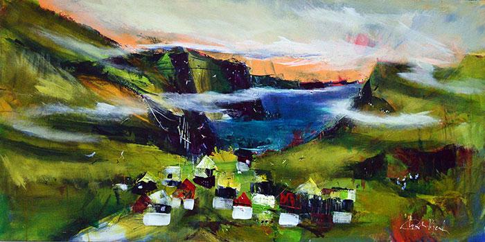 En lille bygd - Færøerne